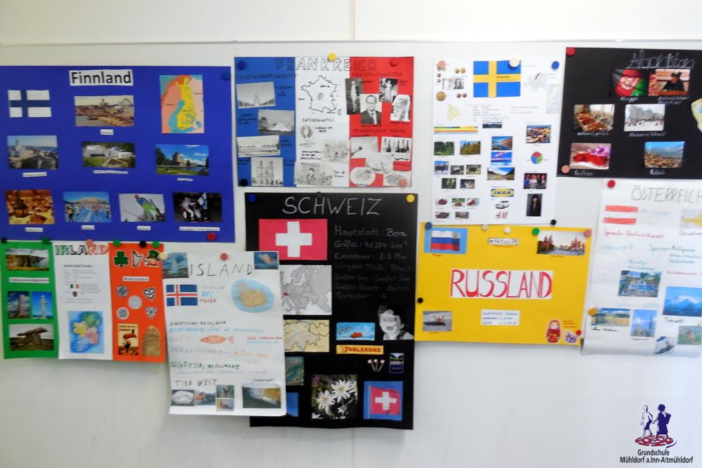 Frankreich Plakat Schule